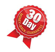 30 Day 100% Guarantee